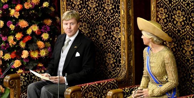 Koning Willem-Alexander sprak in de troonrede van een 'participatiesamenleving'.