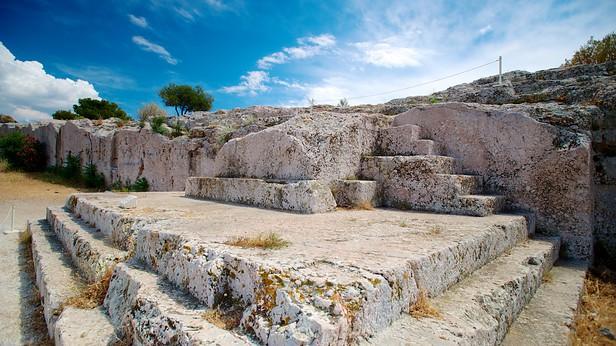De Pnyx in Griekenland vandaag de dag