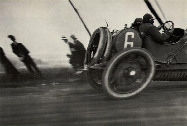De auto van Henri Lartigue