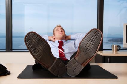 Dagdromen op het werk kan de productiviteit bevorderen.