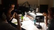 Wilbert van de Kamp in de studio