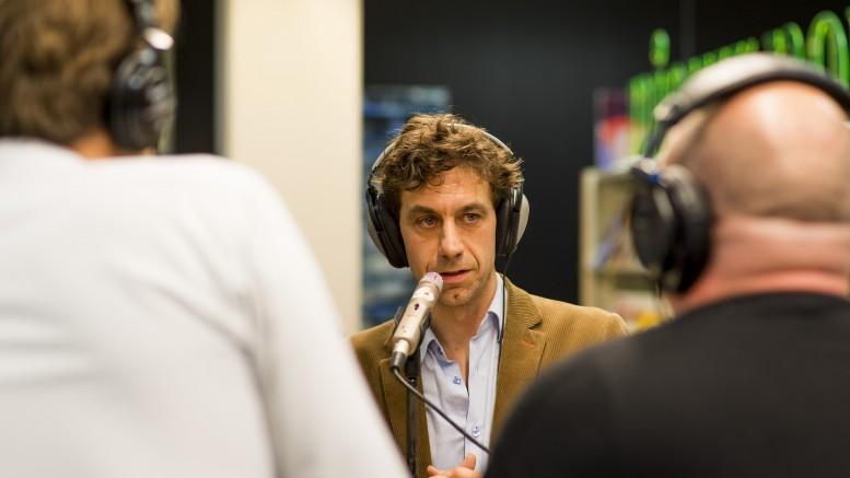 Jan-Willem Romeijn tijdens de podcast