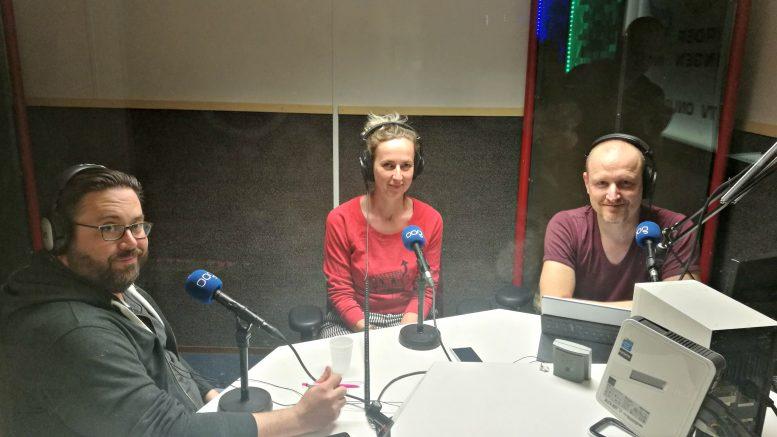 Chief Digital officer of Groningen Nick Stevens in the studio