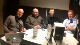 In de studio bij Oog met Bart Brouwers