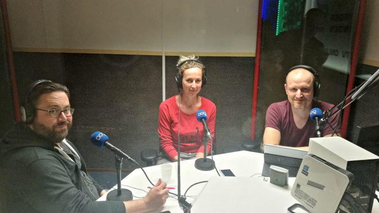 Chief Digital officer of Groningen Nick Stevens in the studio